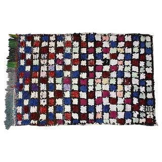 """Moroccan Berber Squares Wool Rug - 5'4"""" X 3'5"""""""