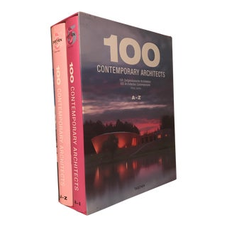 """100 Contemporary Architects A-Z"" Taschen Bookset"
