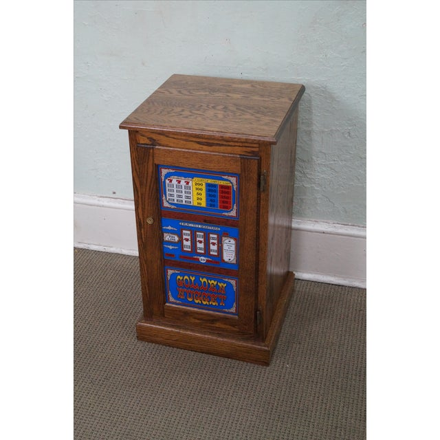 Repurposed Golden Nugget Slot Machine Side Table - Image 3 of 10