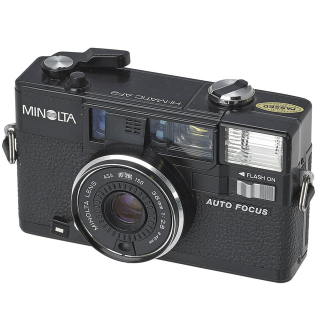 Image of Vintage Minolta Hi-Matic AF2 35mm Camera