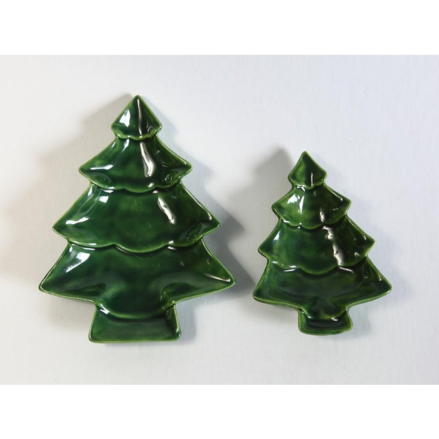 Small Nesting Christmas Trees - A Pair - Image 4 of 4
