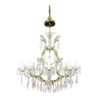 9 light Maria Theresa Chandelier