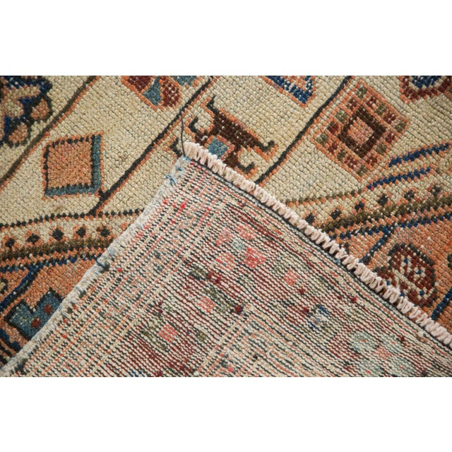 "Vintage Distressed Malayer Rug - 4'4"" x 6'3"" - Image 7 of 11"