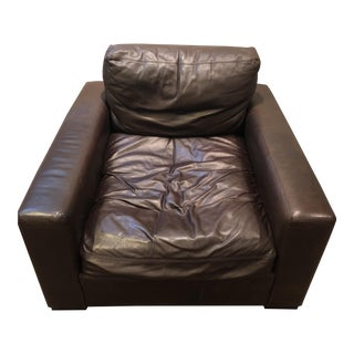 RH Maxwell Leather Chair