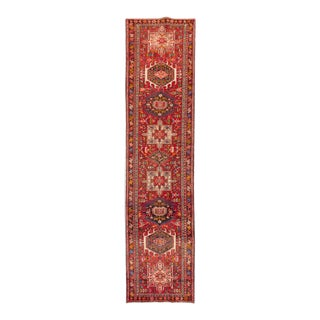 "Apadana - Vintage Persian Rug, 3'2"" x 13'2"""