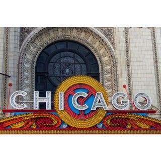 Chicago Theatre Marquee Photo by Josh Moulton