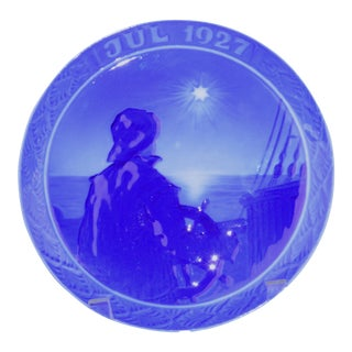 1927 Royal Copenhagen Christmas Plate