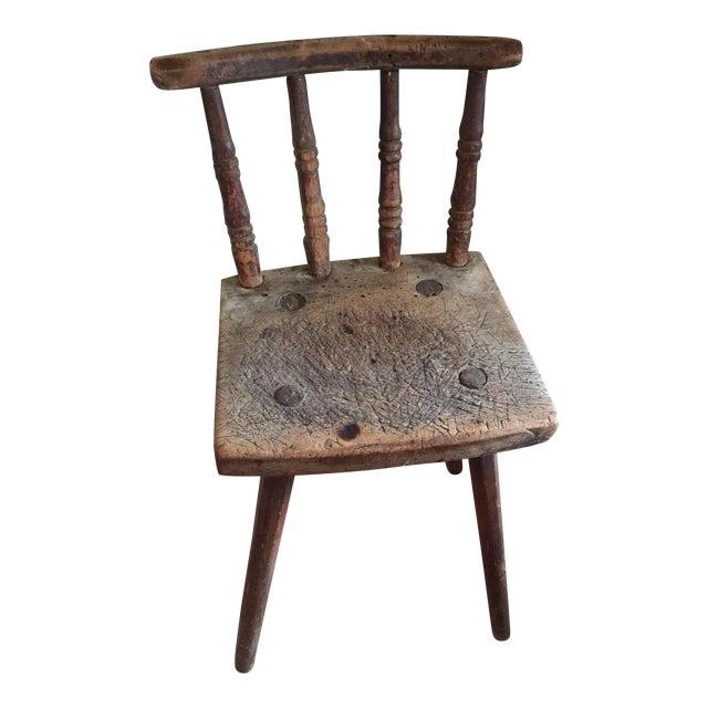 Handmade Pegged Chair - Image 1 of 5