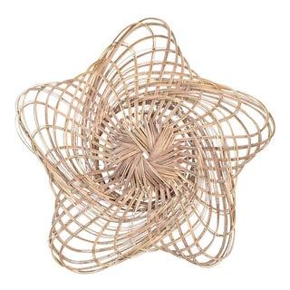 Woven Star Wall Hanging Basket