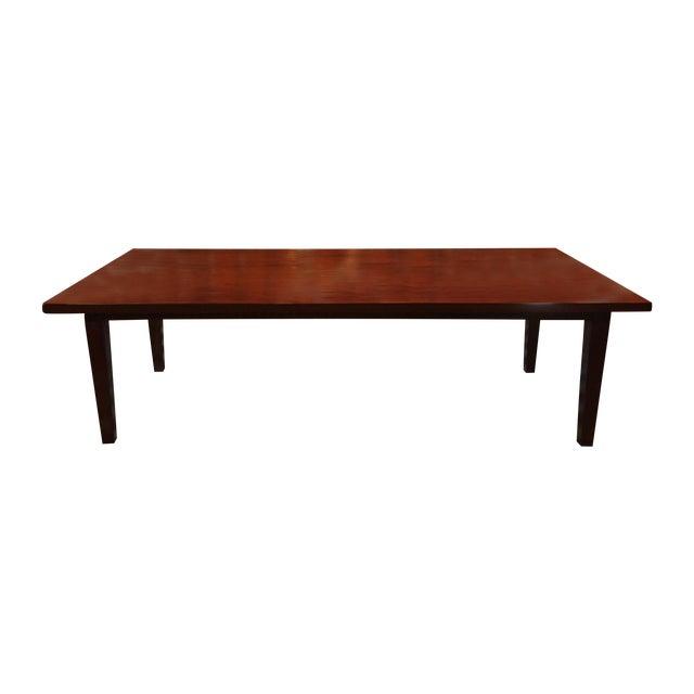 custom made wood dining room table chairish