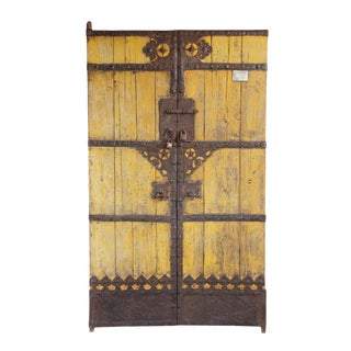 Old Chinese Wood Door