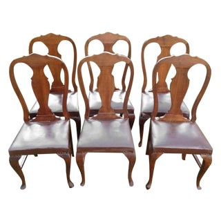 Queen Anne Chairs - Set of 6