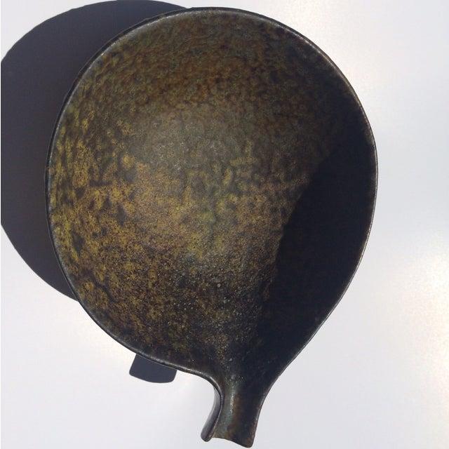 1960s Fantoni Gambone Italian Glaze Black Dish - Image 2 of 6