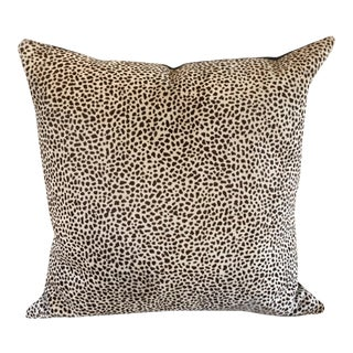 Kreiss Furniture Leopard Spotted Hide Pillow