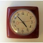 Image of Mid Century Style Wall Clock