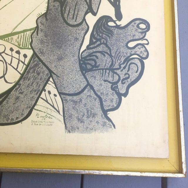 Lautrec Moulin Rouge Framed Poster - Image 7 of 11