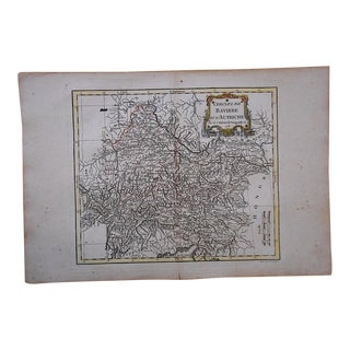 18th C. Antique Map-Germany-Bavaria & Austria