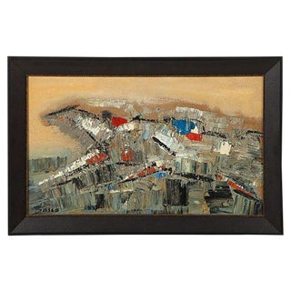 Pierre Bosco Horse Races Oil Painting