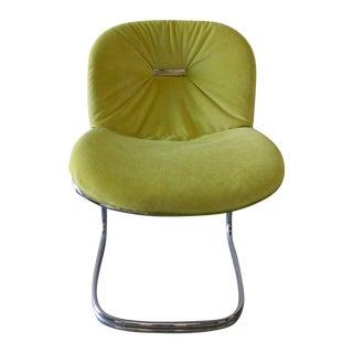 Mid-Century Modern Chrome Desk Chair