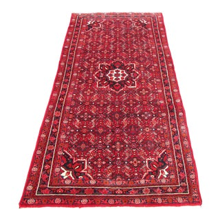 "Persian Hussain Abad Handmade Rug - 5'2"" x 10'11"""