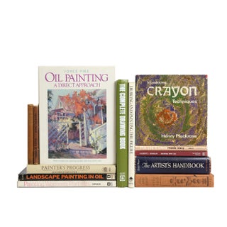 Lessons In Drawing & Painting Books - Set of 13