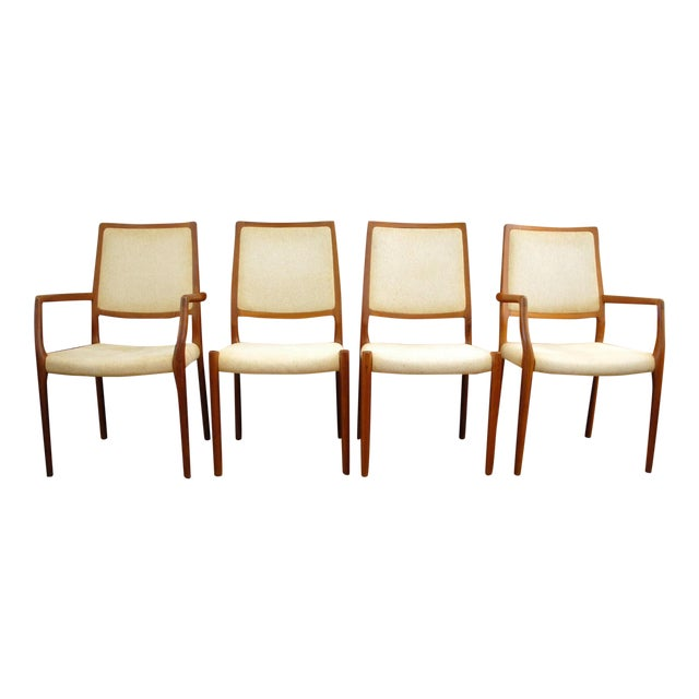 JL Moller Vintage Teak Dining Chairs - Set of 4 - Image 1 of 11