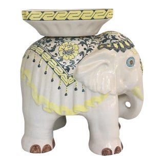 Elephant Garden Stool Side Table