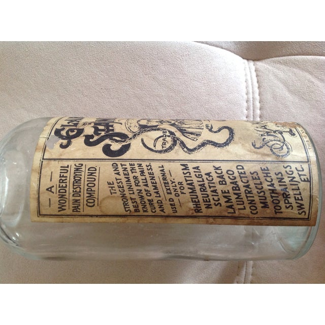 Clark Stanley's Snake Oil Apothecary Jar - Image 4 of 7