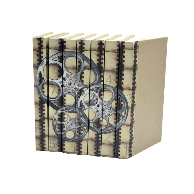 Image of Film Reels Silver Screen Books - Set of 7