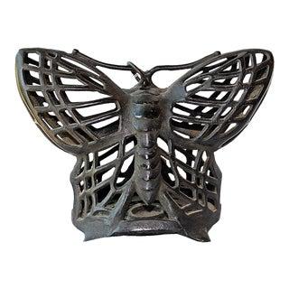 Cast Iron Butterfly Lantern
