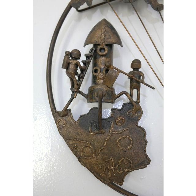 Mid-Century Brutalist Moon Landing Sculpture - Image 3 of 5