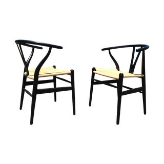 Hans Wegner Wishbone Chairs - A Pair