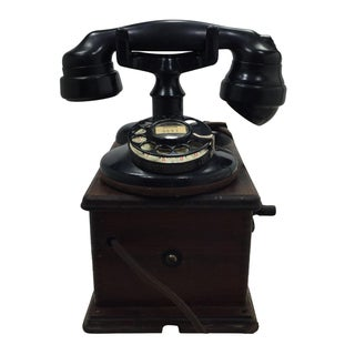 Antique 1920s Western Electric A1 Rotary Dial Telephome
