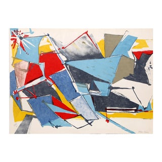 "Jasha Green ""Untitled 24"" Lithograph"
