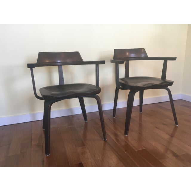 "Walter Gropius ""W199"" Chairs - A Pair - Image 4 of 4"
