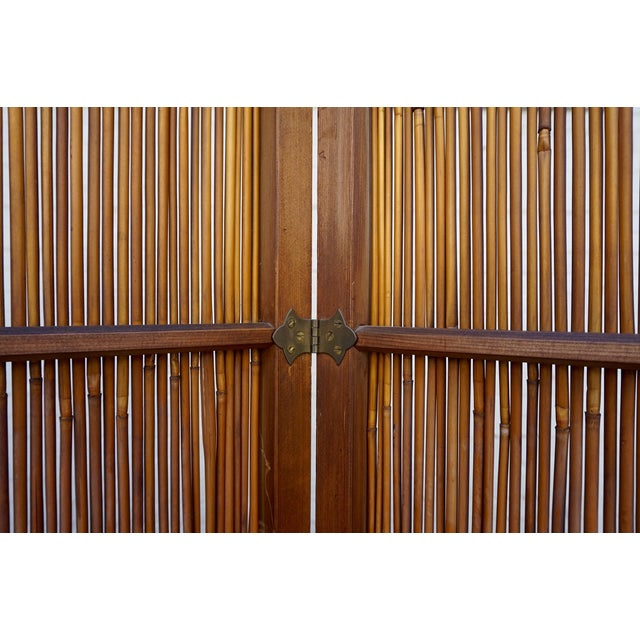 Japanese Room Divider Screen - Image 5 of 6