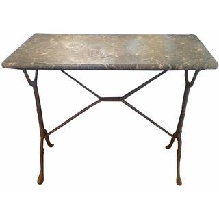 Vintage French Bistro Table Desk