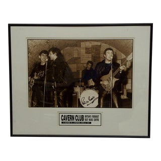 Pete Best, Britain's Cavern Club Signed Photo