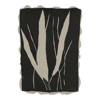 "Kate Roebuck ""Grasses Two"" Sumi Ink Painting"