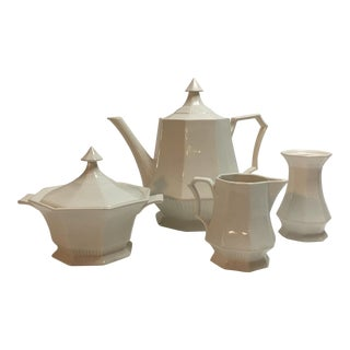 Mid-Century Independence Ironstone Castleton Tea Set - Set of 4