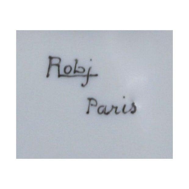 Image of Art Deco Robj Paris Porcelain Eskimo Inkwell