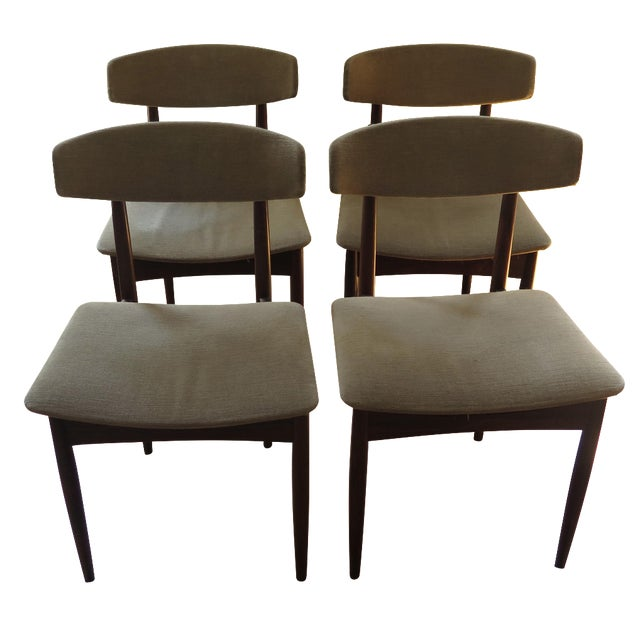 Mid-Century Rosewood Dining Chairs - Set of 4 - Image 1 of 3
