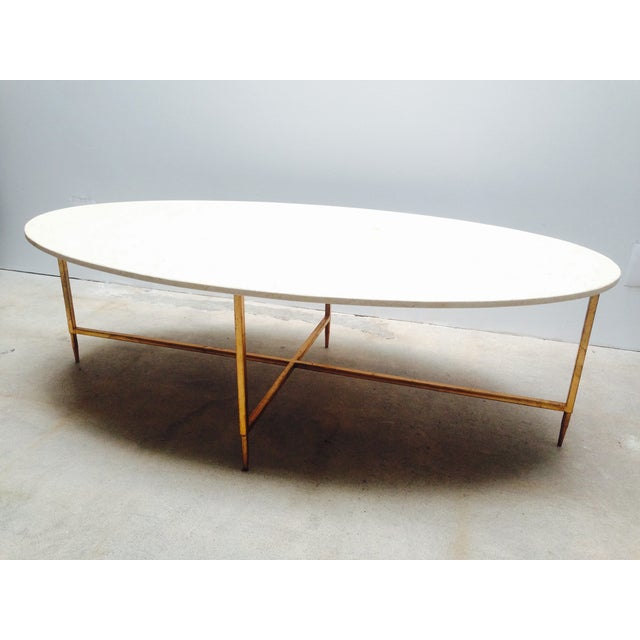 Oval Marble Cocktail Table By Interlude Home Chairish