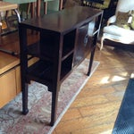 Image of Asian Style Wooden Console Table