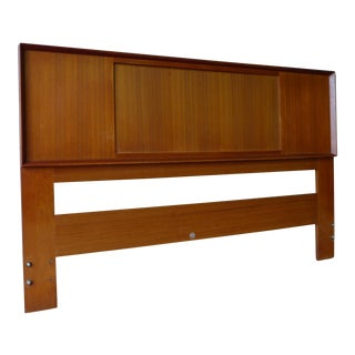 Falster Mid-Century Queen / Full Size Teak Headboard