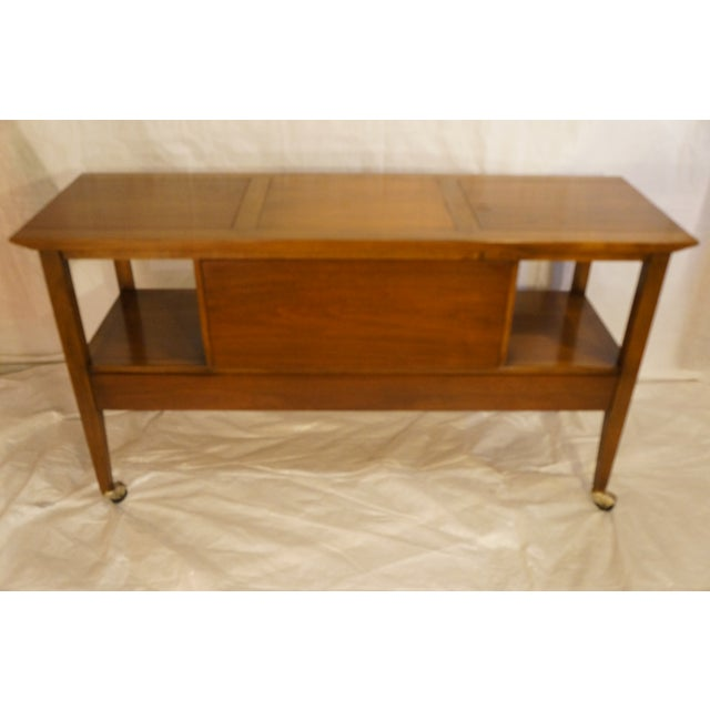Mid-Century Modern Bar Cart - Image 4 of 8