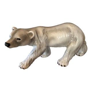 Handcrafted Polar Bear Figure