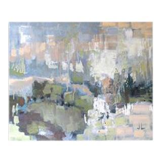 """""""Pastel Rain"""" Original Acrylic Painting"""