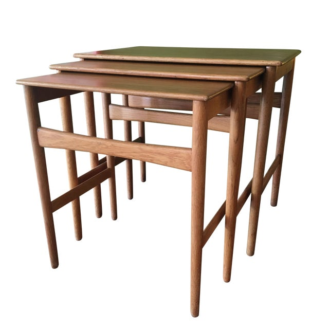 Image of Nesting Tables by Hans Wegner - Set of 3