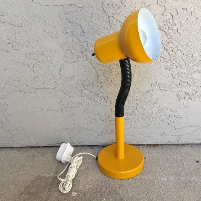 Vintage Gooseneck Adjustable Task Lamp - Image 3 of 6